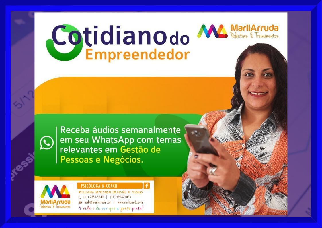ÁUDIOS - COTIDIANO DO EMPREENDEDOR